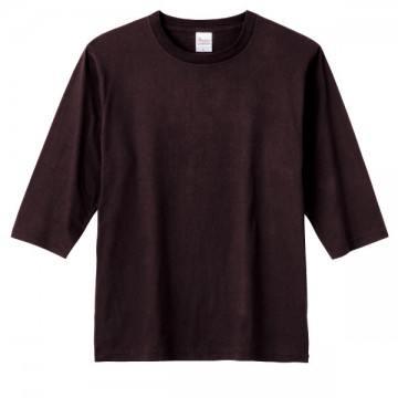 5分袖Tシャツ168.チョコレート