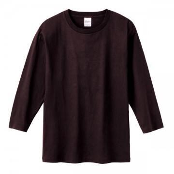 7分袖Tシャツ168.チョコレート