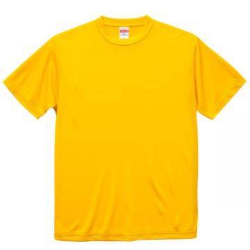 ドライシルキータッチTシャツ190.カナリアイエロー