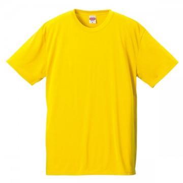 ドライコットンタッチTシャツ190.カナリアイエロー
