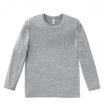 3.8オンス ユーロロングTシャツ2.杢グレー