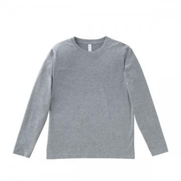 5.3オンス ユーロロングTシャツ2.杢グレー