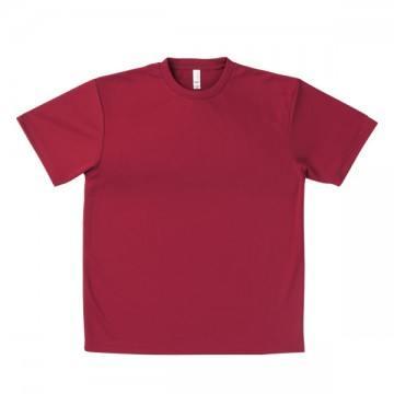 ドライTシャツ23.バーガンディ