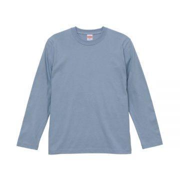 ロングスリーブTシャツ247.アシッドブルー