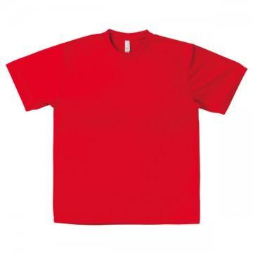 ドライTシャツ3.レッド