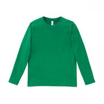 5.3オンス ユーロロングTシャツ34.グリーン