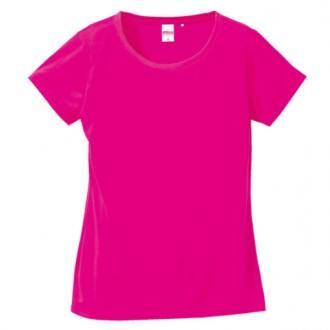 ドライシルキータッチTシャツ5088_04トロピカルピンク