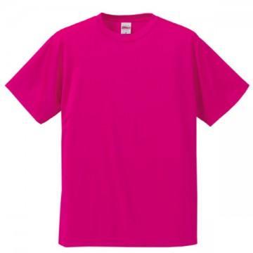 ドライシルキータッチTシャツ511.トロピカルピンク