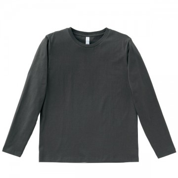 5.3オンス ユーロロングTシャツ52.スモーク