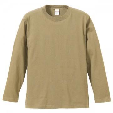 ロングスリーブTシャツ537.サンドカーキ