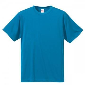 ドライシルキータッチTシャツ538.ターコイズブルー