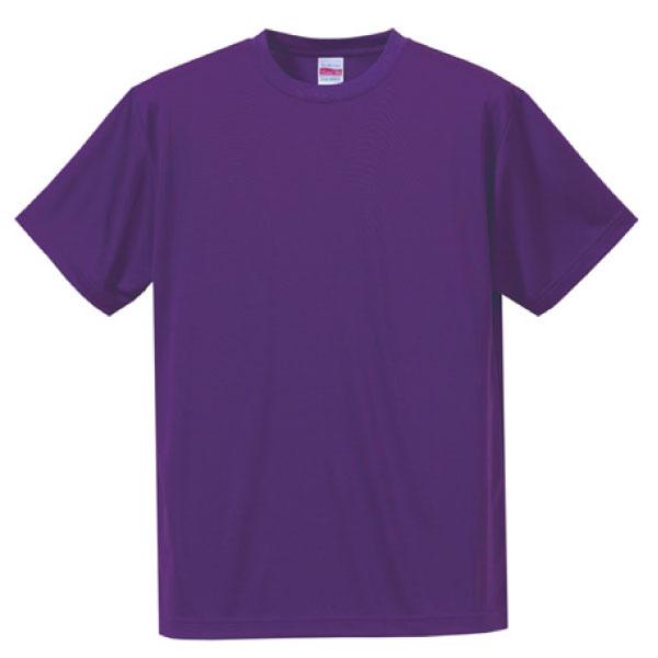 ドライシルキータッチTシャツ5088バイオレットパープル