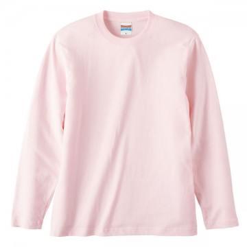 ロングスリーブTシャツ576.ベビーピンク