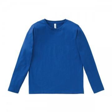 5.3オンス ユーロロングTシャツ7.ロイヤルブルー