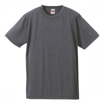 ドライコットンタッチTシャツ714.ヘザーグレー