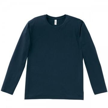 3.8オンス ユーロロングTシャツ8.ネイビー