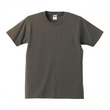 レギュラーフィットTシャツ007.チャコール