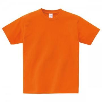ヘビーウェイトTシャツ015.オレンジ