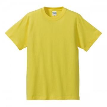 ハイクオリティーTシャツ021.イエロー