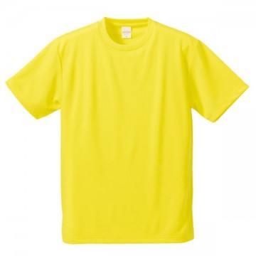 4.1オンスドライアスレチックTシャツ021.イエロー