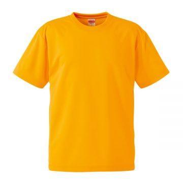 4.1オンスドライアスレチックTシャツ022.ゴールド