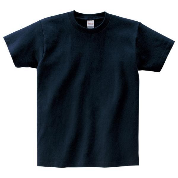 ヘビーウェイトTシャツ085ネイビー