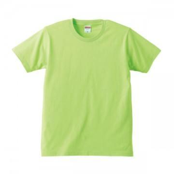 レギュラーフィットTシャツ036.ライムグリーン