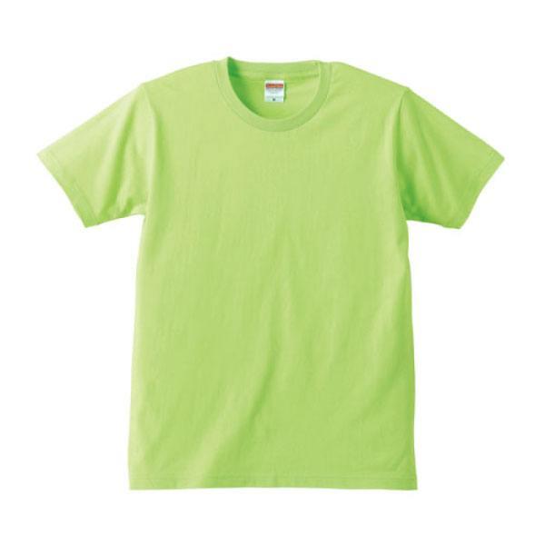 レギュラーフィットTシャツ5401ライムグリーン
