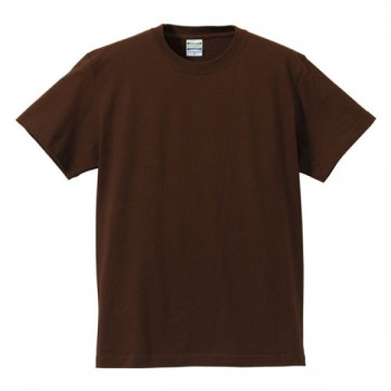 ハイクオリティーTシャツ052.ダークブラウン