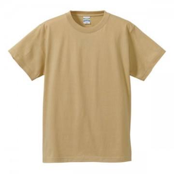 ハイクオリティーTシャツ053.ライトベージュ