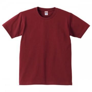 レギュラーフィットTシャツ072.バーガンディ