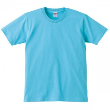 レギュラーフィットTシャツ083.アクアブルー