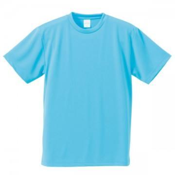 4.1オンスドライアスレチックTシャツ083.アクアブルー