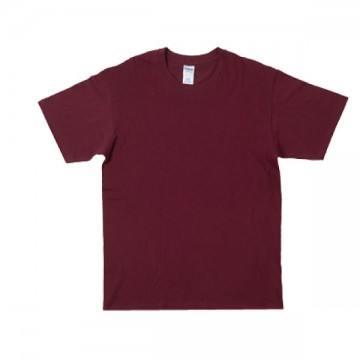 プレミアムコットンジャパンスペックTシャツ7644C.マルーン