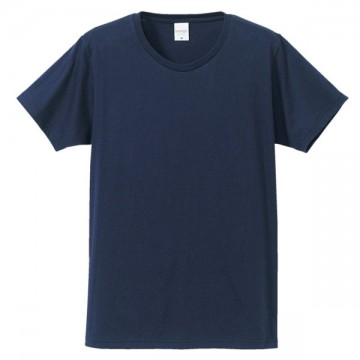 ファインジャージーTシャツ086.ネイビー