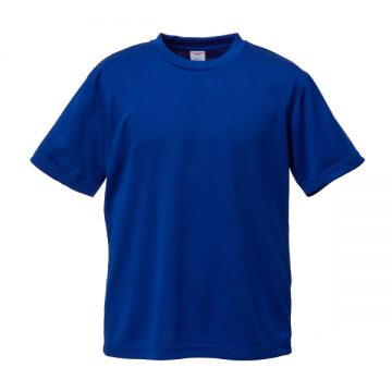 4.1オンスドライアスレチックTシャツ095.マリンブルー