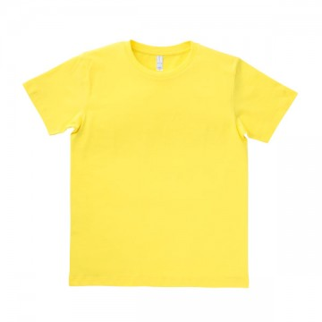 ユーロTシャツ5.3oz10.イエロー
