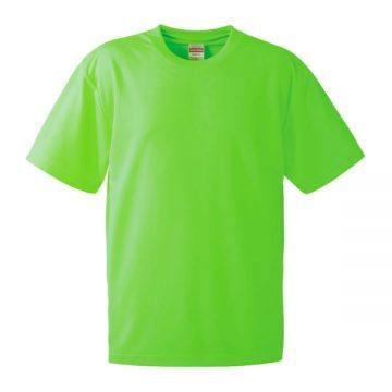 4.1オンスドライアスレチックTシャツ112.蛍光グリーン
