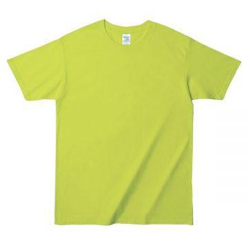 プレミアムコットンジャパンスペックTシャツ382C.セーフティグリーン