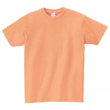 ヘビーウェイトTシャツ189.ライトオレンジ