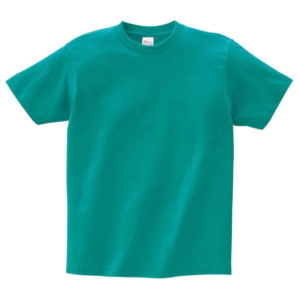 ヘビーウェイトTシャツ085ピーコックグリーン