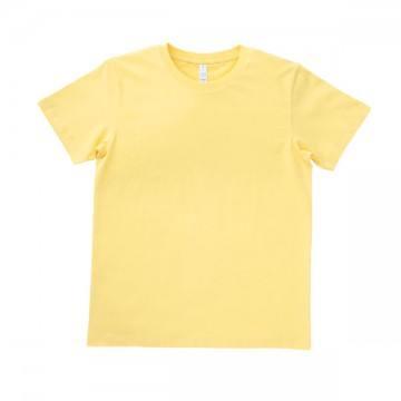 ユーロTシャツ5.3oz20.ライトイエロー