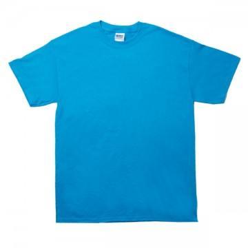 ウルトラコットンTシャツ217c.ヘザーサファイア
