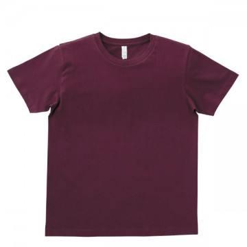 ユーロTシャツ5.3oz23.バーガンディ