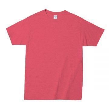 プレミアムコットンジャパンスペックTシャツ234C.ヘザーレッド