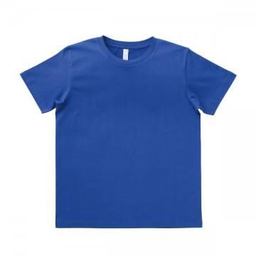 ユーロTシャツ5.3oz37.ミッドブルー