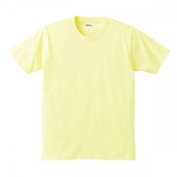 レギュラーフィットTシャツ487.ライトイエロー