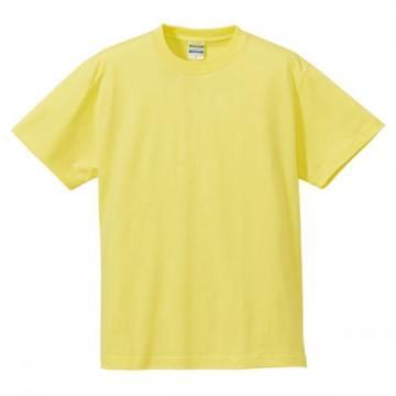 ハイクオリティーTシャツ487.ライトイエロー