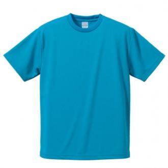 ドライアスレチックTシャツ538ターコイズブルー