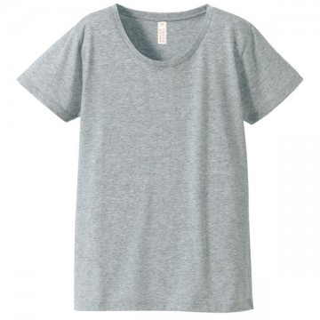 ガールズTシャツ714.ヘザーグレー